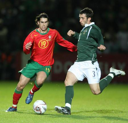 图文:友谊赛葡萄牙1-1平北爱尔兰