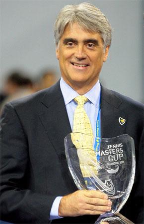 图文:ATP前主席举行告别仪式 迈尔斯成就卓著