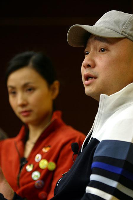 徐峥陶虹夫妻携手做客搜狐:现在没计划要孩子