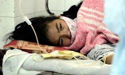 一名被确诊感染禽流感的女孩