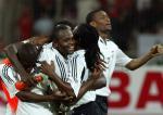 图文:附加赛特立尼达击败巴林出线 庆祝胜利