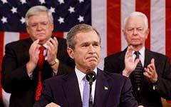 布什就9·11恐怖袭击事件发表全国电视讲话