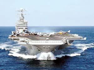 """2008年""""华盛顿""""驻日 美国选择航母颇费心思(图)"""