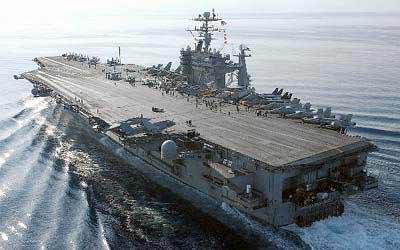 加强亚太军事存在 美华盛顿号核航母将驻日(图)