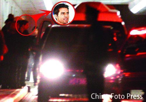《碟中谍3》上海拍摄 阿汤哥又当飞人又爆破