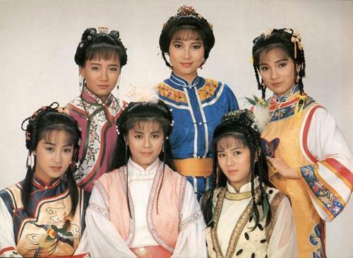 近三十年香港古装剧服饰造型之演变!(组图)-80年代图片