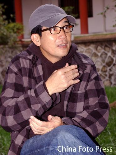 秦汉张静初印小天接受采访谈《紫玉金砂》(组图)