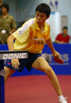 中国台北乒乓球公开赛收拍 美国老将高军揽两金