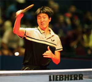 美国乒乓球公开赛结束 韩国队抢眼柳承敏获双金
