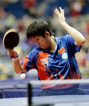 中国新秀曹臻夺得德国乒乓球公开赛女单冠军
