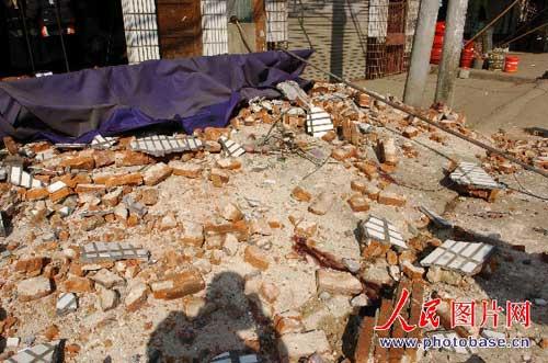 图:江西九江发生5.7级地震