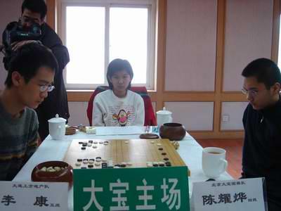 图文:北京大宝VS大连上方 陈耀烨对阵李康