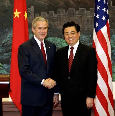 舆论分析:布什访华后中美关系正重新定位(图)
