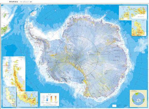 全貌纵览 南极最新地图(组图)