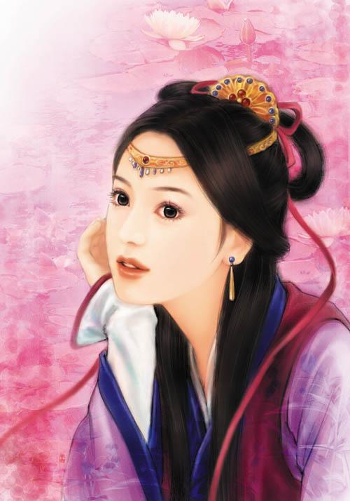 中国古代二十大美女才女美图