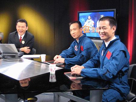 神六双雄接受访台邀请台飞行员团体再表心切(图)