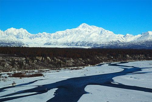 七大洲最高峰:北美洲的麦金利峰