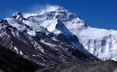 七大洲最高峰:亚洲的珠穆朗玛峰