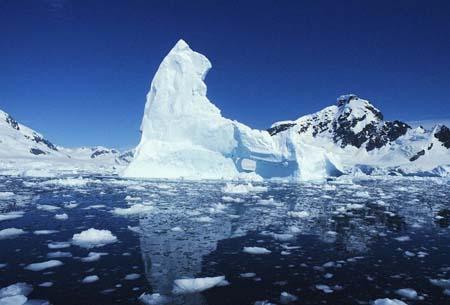 地球的两极:南极点(图)