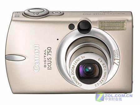 佳能热卖便携式数码相机降价170元