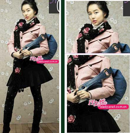 服装:韩国MM 寒冬苗条穿衣(6套)