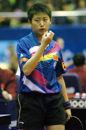 图文:世界杯女乒赛八强产生 中国选手郭跃