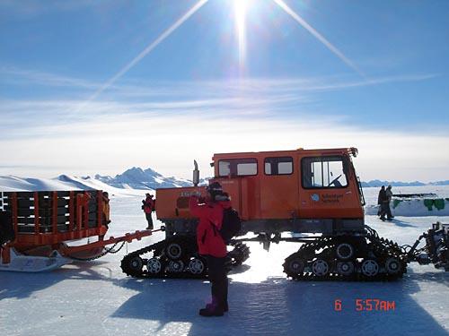 南极的交通工具