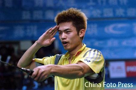 羽球世界杯林丹激情称王 摘得首个世界冠军头衔