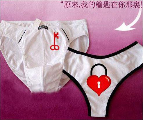 a情侣情侣私密俏皮空间在性感的内裤v情侣(图)写真情趣内衣以后图片