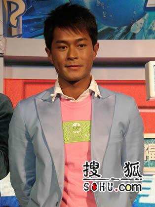 古天乐上海出席2006百事新春广告播仪式(图)