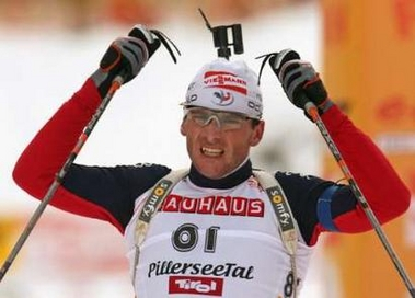 冬奥会项目介绍--冬季两项运动员