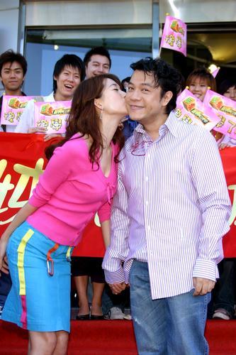 2005年搞笑尴尬色情火辣辣的明星之吻(组图)