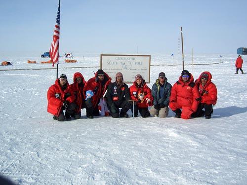 南极点大团圆