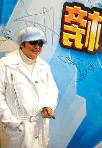百事音乐风云榜启动 歌手穿白衣呼吁公正