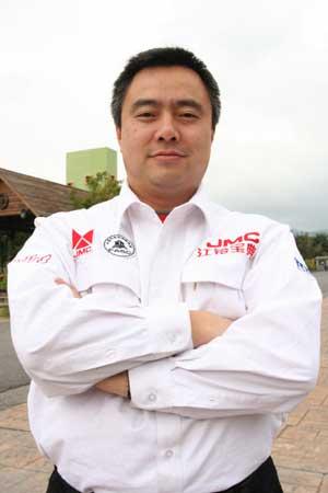 """中国江铃车队出征""""2006达喀尔拉力赛"""""""