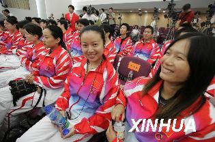 中国步手枪选手今年已射落八张北京奥运入场券