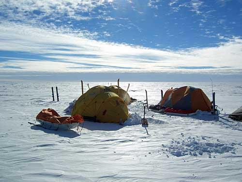 南极上的冷与静