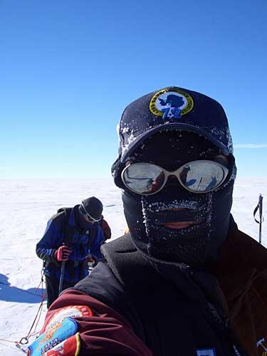 极地上的队员搞怪花絮