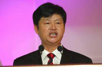 江铃汽车集团公司王锡高董事长王锡高致辞