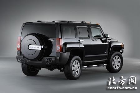 悍马将在北美车展推出全新车型2007款H3x