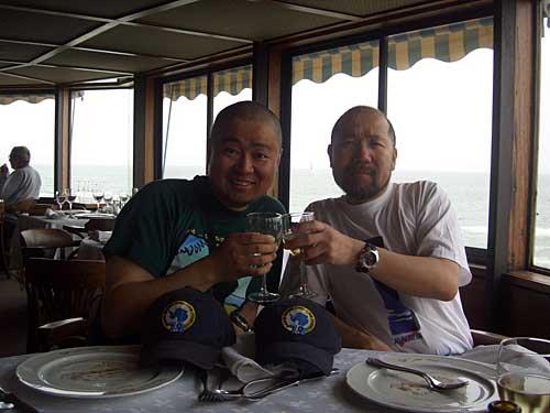 在智利海滨城市维尼亚德马的快乐时光