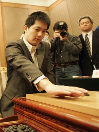 CCTV体坛风云人物(2005年度)-常昊