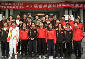 CCTV体坛风云人物(2005年度)-乒乓球队