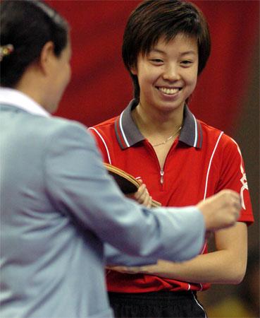 CCTV体坛风云人物(2005年度)-张怡宁