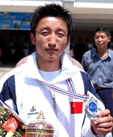 CCTV体坛风云人物(2005年度)-邹市明