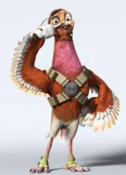 《战鸽总动员》主要人物