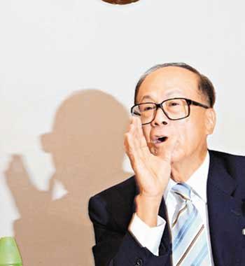 当今香港的八大富豪名流