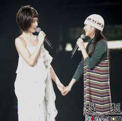 明星:陈慧琳演唱会上照顾张含韵