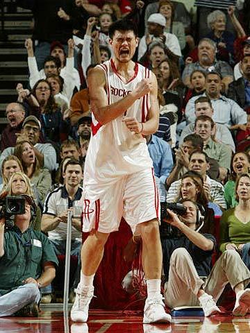 美媒体年度最有影响力100人 NBA球星中姚明首位