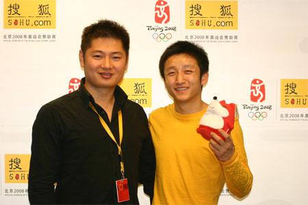 名将邹市明做客搜狐聊天室 世界冠军是打出来的